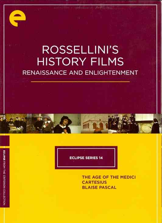 ECLIPSE SERIES 14:ROSSELLINI'S HISTOR BY ROSSELLINI,ROBERTO (DVD)